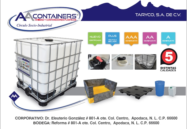 aa containers